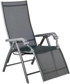 Kettler Leżak Lucca alu / text / Fotel grafitowy 01595-000