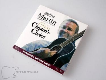 Martin Claptons Choice struny do gitary akustycznej .012-.054 Phosphor Bronze ME