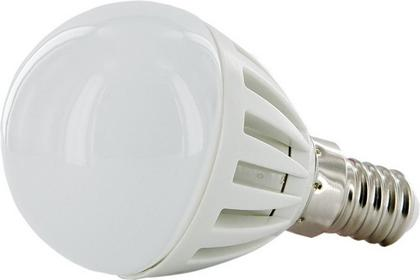 Whitenergy Żarówka LED 18xSMD 3014 G45 2W E14 ciepła barwa 08499