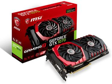 MSI GeForce GTX 1070 Gaming  Z 8G VR Ready