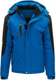 Kurtka męska zimowa niebieska (tx1467) tx1467_m Niebieski