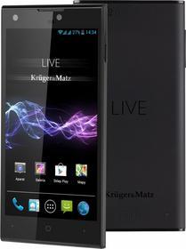 Kruger&Matz LIVE 2 LTE Czarny