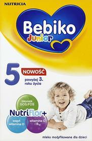 Bebiko Junior 5 NutriFlor+ z kleikiem ryżowym 350g
