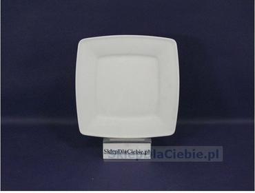 Lubiana Talerz płytki 15,5 cm Victoria biała