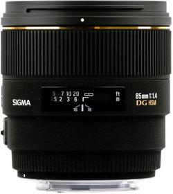 Sigma 85mm f/1.4 EX DG HSM Nikon