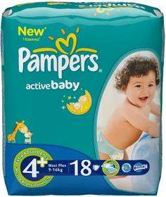 Pampers Active Baby 4+ Maxi Plus 74 szt.