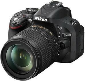 Nikon D5200 + 18-140 VR kit
