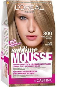 Loreal Sublime Mousse 800 Naturalny Blond