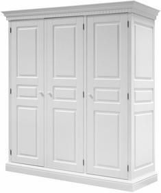 Interstil Szafa ROMANCE 197 cm, biała, MDF, 91742-1