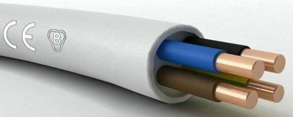 Telefonika Kable Przewód instalacyjny OKRĄGŁY YDY 4x1 450/750V