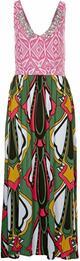 House of Wilde ELENA długa sukienka wielokolorowe HW121C00J-917
