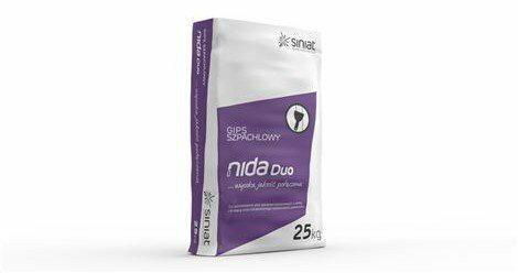 Siniat Gips szpachlowy NIDA Duo 25kg