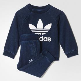 adidas I DENIM CREW zestaw dla niemowląt