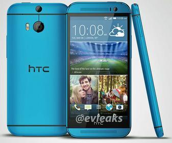 HTC One M8 Niebieski
