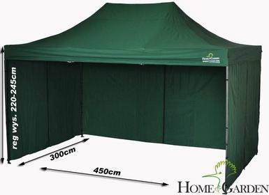 Home&Garden Namiot Handlowy 300 x 450 cm zielony