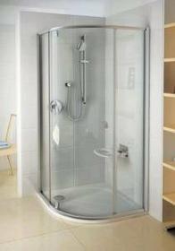 Ravak Pivot PSKK3-80 80x80 profil biały szkło transparentne 37644100Z1