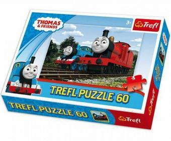 Trefl Puzzle 60 Tomek i przyjaciele i Przyjaciele Lokomotywy