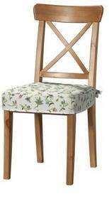 Dekoria Siedzisko na krzesło Ingolf Londres małe kwiaty na jasnym tle