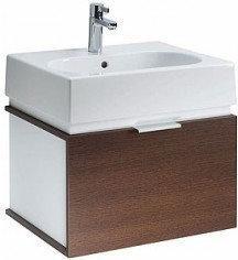 Koło TWINS 50 - zestaw łazienkowy: umywalka z misą owalną + szafka wisząca L5902