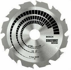 Bosch Tarcza Construct Wood 160/20/16mm 12Z