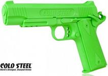 Cold Steel Atrapa gumowa - pistolet COLT 1911, zielony 92RGC11C
