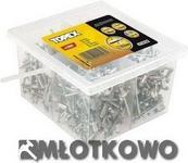 Topex Nity aluminiowe 4.0 mm x 10 mm, 800 szt. 43E421