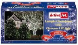 ActiveJet Lampki choin 100LED AJE-CL10010CO białe zimne zew
