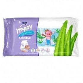 Bella TZMO SA Chusteczki nasączone Baby Happy Sensitive 56 szt.