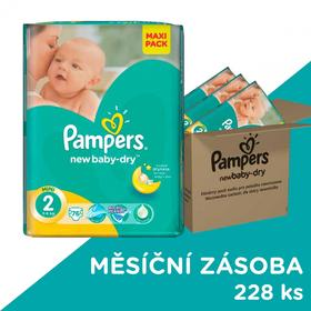 Pampers Active Baby-Dry 2 Mini 228 szt.