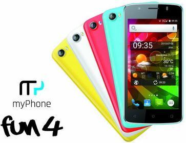 myPhone Fun 4 Biały