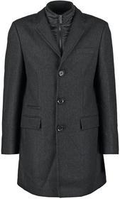 Esprit Płaszcz wełniany /Płaszcz klasyczny czarny 105EO2G001
