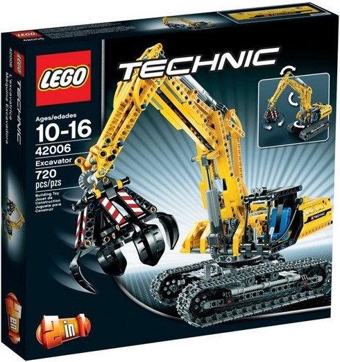 LEGO Technic - Koparka 2w1 42006