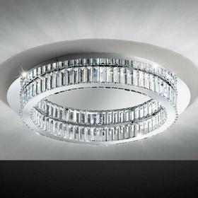 Eglo plafon sufitowy kryształowy 1pł CORLIANO 39014