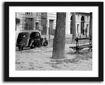Feeby Classic cars, Obrazy w ramie - Czarny