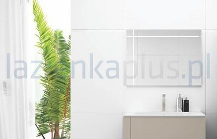 Defra Lustro 80 x 60 cm cappuccino połysk Lines 208-L-08001
