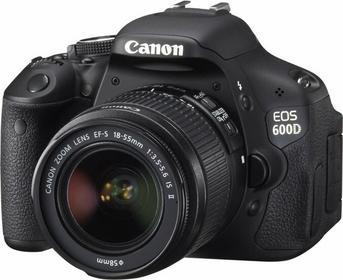 Canon EOS 600D + 18-55 IS II kit