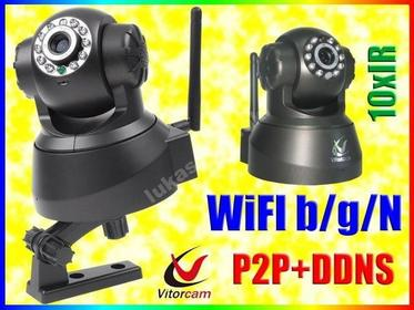 KAMERA OBROTOWA WiFi DETEKCJA RUCHU EMAIL DDNS P2P Easy