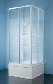Sanplast Classic 80 KT/Dr-c-80 80x80 profil biały szkło W5