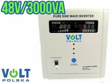 VOLT Przetwornica napięcia UPS SINUSPRO-3000E (48V/230V/3000VA) POLSKA