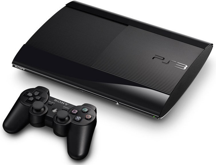 Sony PlayStation 3 Super Slim 12GB Czarny