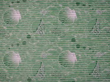 Bisk Mata piankowa shell 50 x 80 cm zielony
