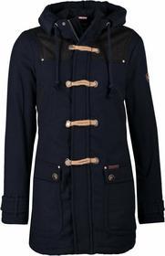 Dreimaster Płaszcz wełniany /Płaszcz klasyczny niebieski 4DR22N005-K11