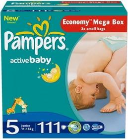 Pampers Active Baby 5 Junior 111 szt.