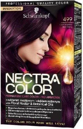schwarzkopf nectra color 499 ciemna wisnia - Nectra Color Schwarzkopf
