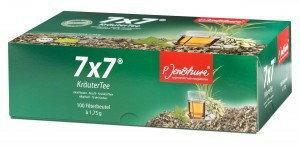Bio P. Jentschura Herbata ziołowa 7x7 Krautertee - 100 sasz. Mieszanka roślinna