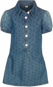 Esprit Sukienka jeansowa dark denim 124EE7E004