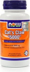 Now Foods Cats Claw 5000mg Koci pazur 60 szt.