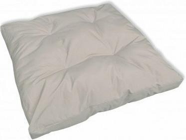 Tapicerowana Poduszka do siedzenia, biały piasek 80x80 cm x 10 cm