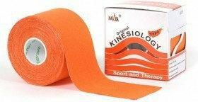 Oryginalne Plastry Kinesiology Tape Nasara 5cm/5m pomarańczowy