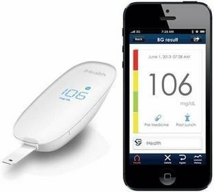 iHealth Wireless Glucose Meter Kit - Glukometr bezprzewodowy iOS ZESTAW